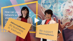 EY - Winning Women Asia-Pacific conference, Ho Chi Minh City, Vietnam – highlights