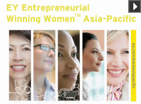Hear about EY Entrepreneurial Winning Women™ Asia-Pacific