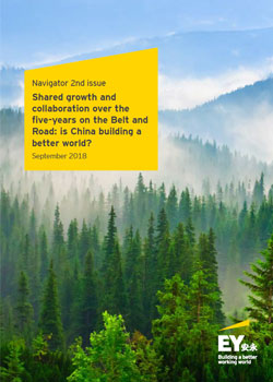 EY - Navigator 2nd issue: Shared growth and collaboration over the five-years on the Belt and Road: is China building a better world?
