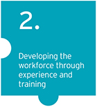 EY - Developing the workforce through experience and training