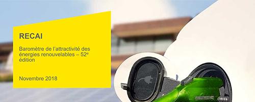 52ème        édition du Baromètre EY des énergies renouvelables