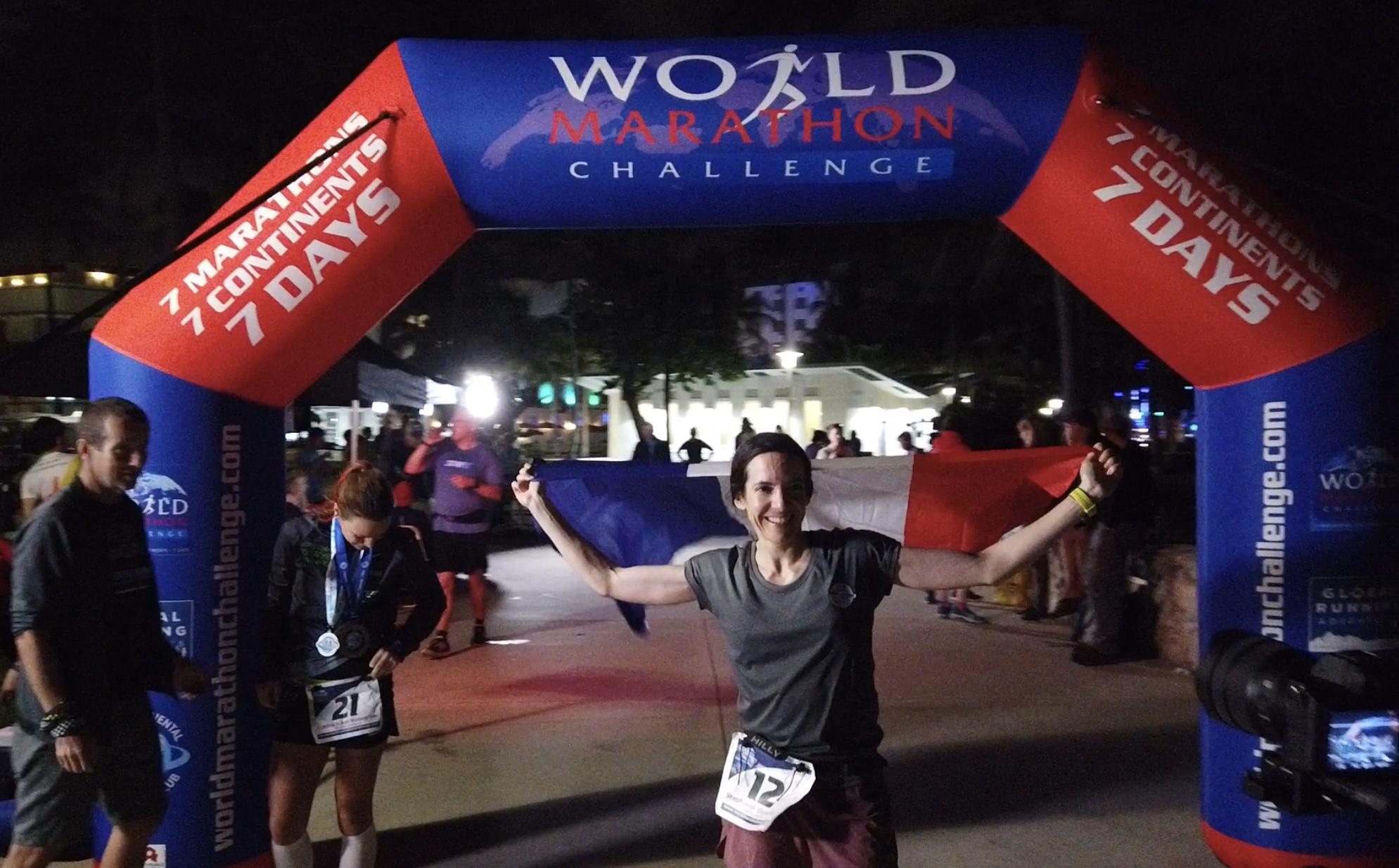 EY soutient l'incroyable défi sportif de Stéphanie Gicquel