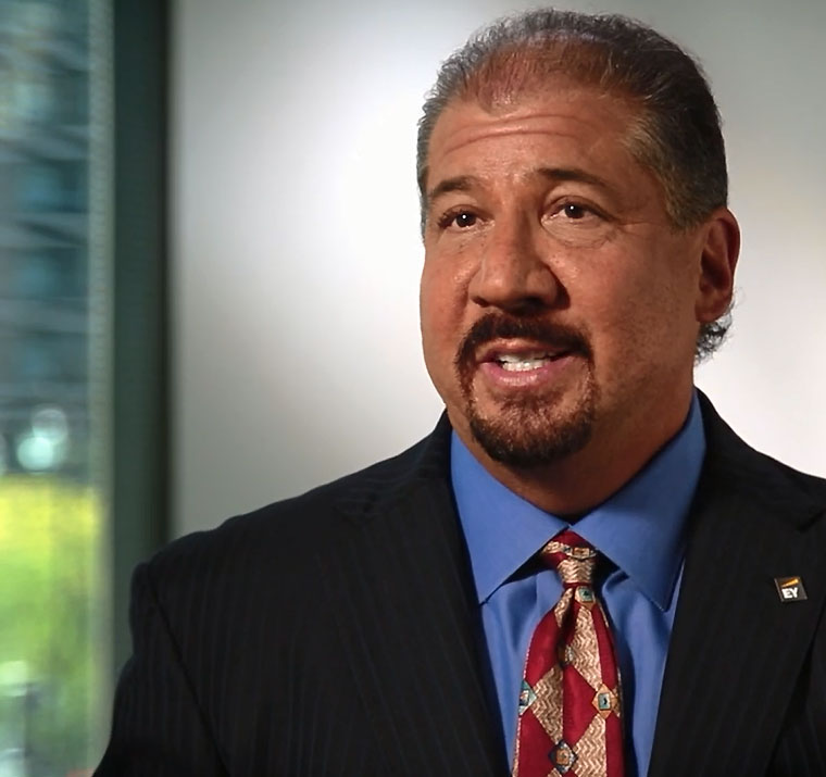 Mark A. Weinberger EY Global Chairman and CEO