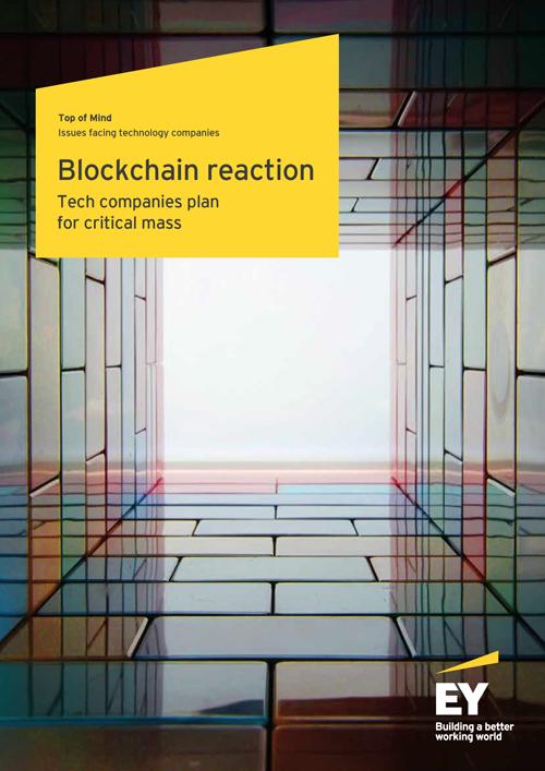 EY - Blockchain reaction: Tech plans for critical mass