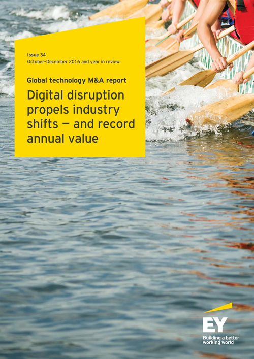 EY - Technology M&A - 4Q16 and year in review