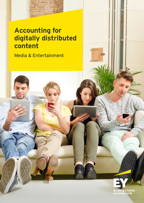 Accounting for digitally distributed content
