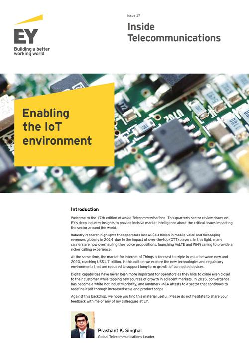 EY - Inside Telecoms Regular publications