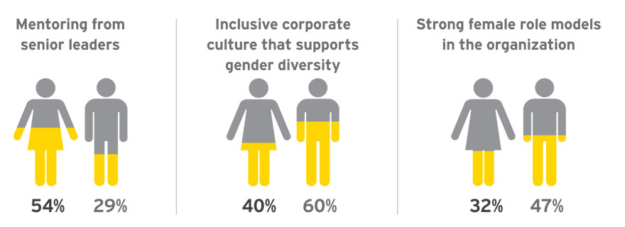 EY - How women and men see the solution