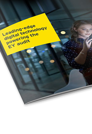 Leading-edge digital  technology powering the EY audit