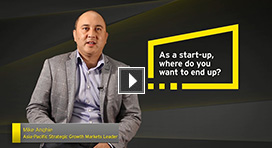 Mike Anghie discusses EY Accelerating Entrepreneurs program