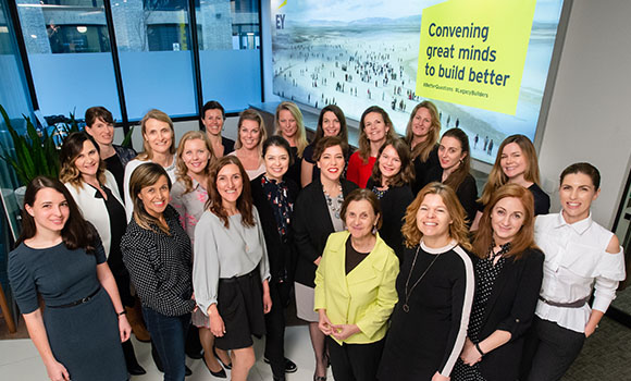 EY - Entrepreneurial Winning Women Europe – Class of 2017 and alumnae
