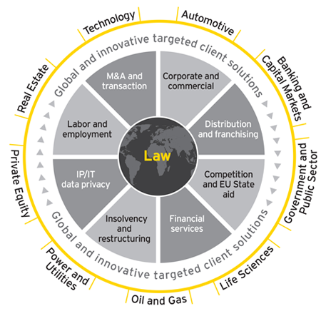 EY Law - Our sector-focused approach