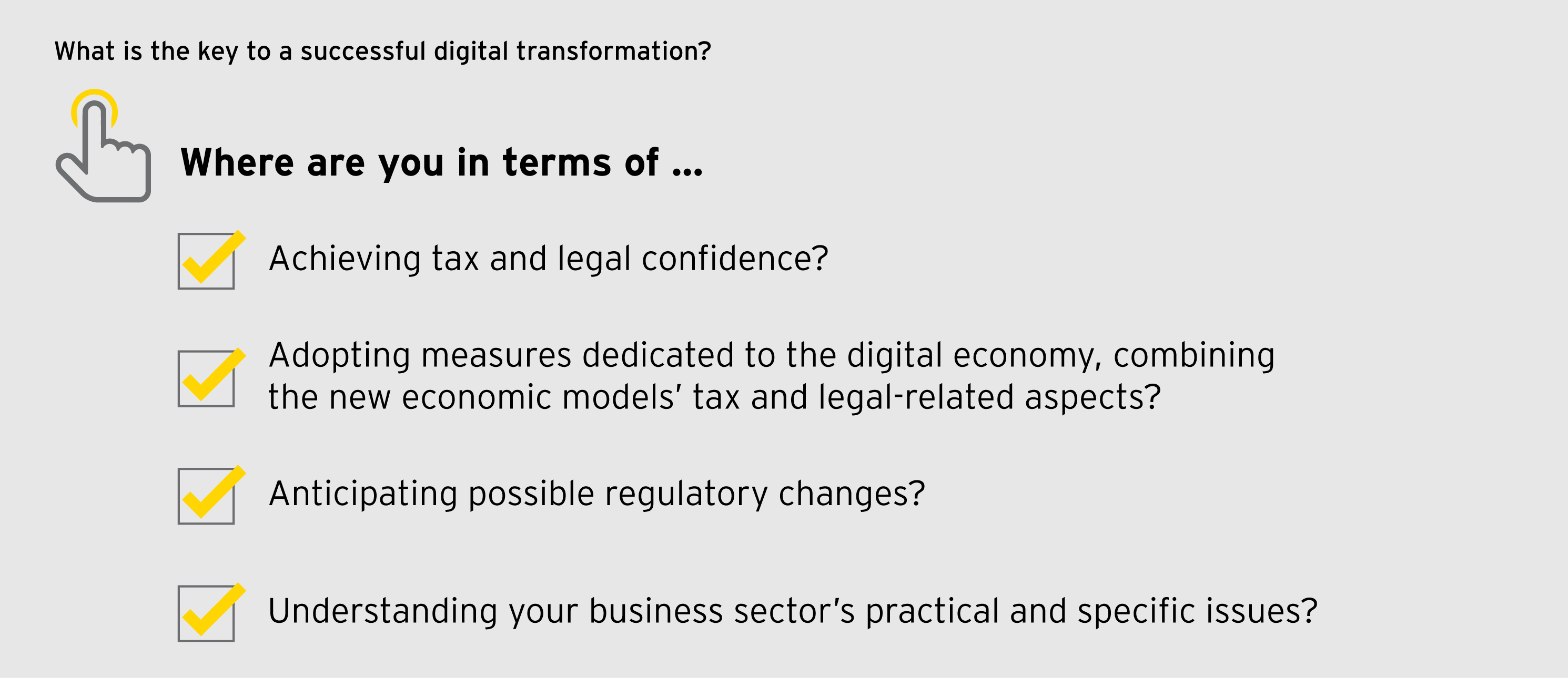 EY - What is the key to a successful digital transformation?