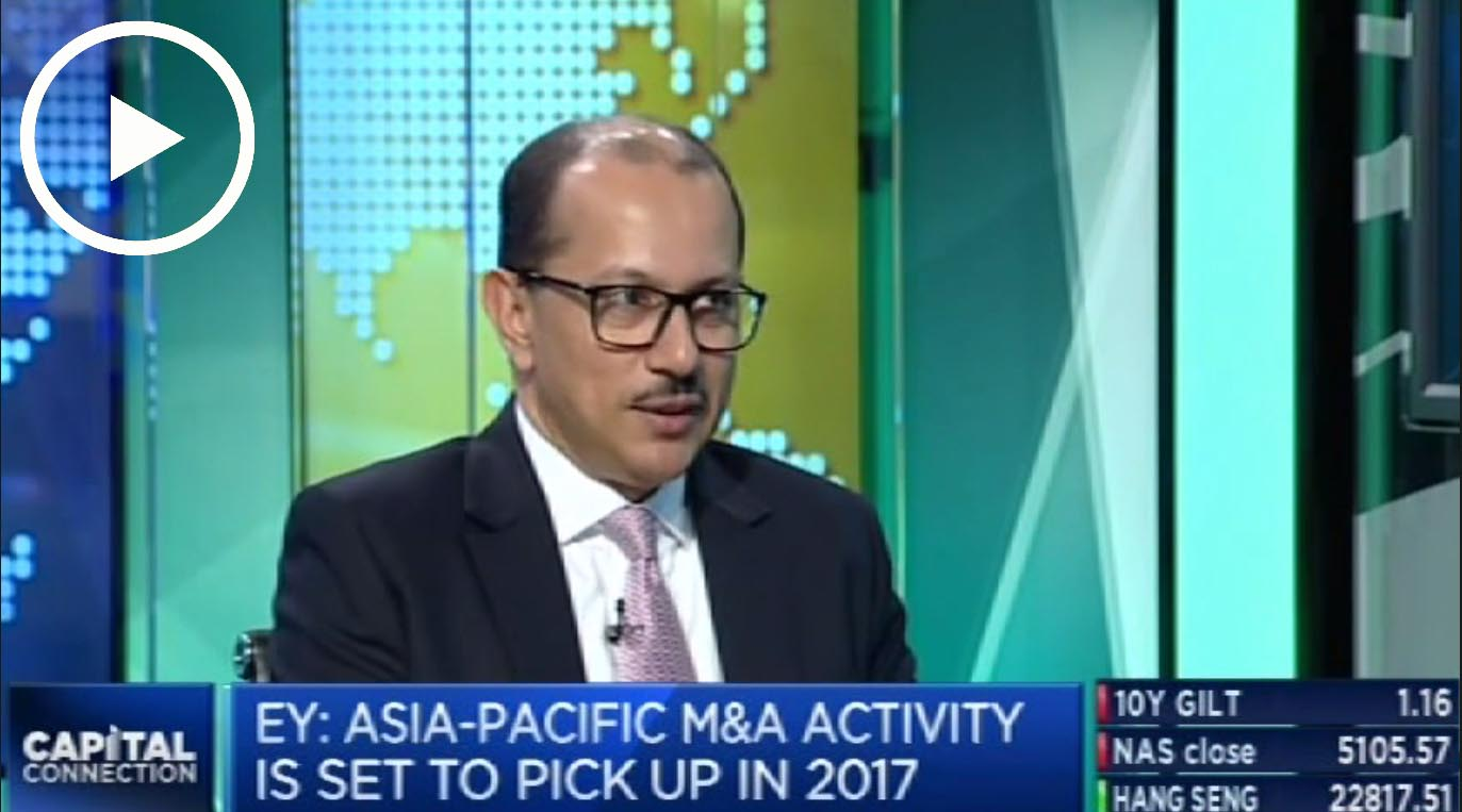 EY - Asia-Pacific M&A activity set to pick up in 2017