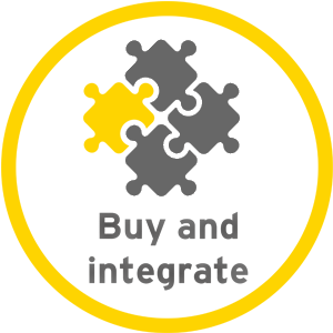 Buy and integate