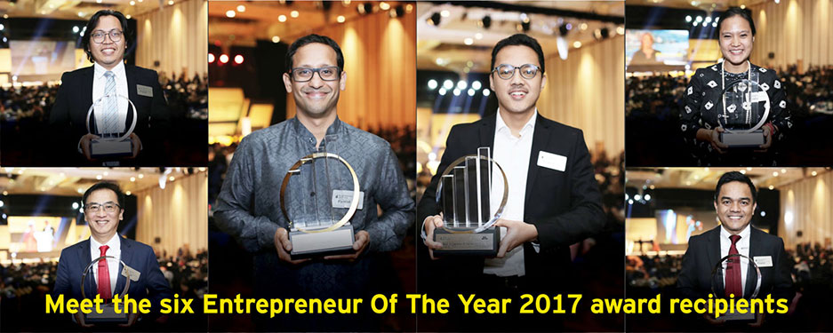 EY - Meet the six EOY 2017 award recipients