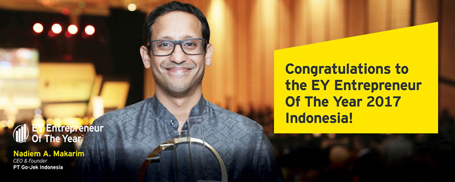 EY - Congratulations to EY Entrepreneur Of The Year 2017 Indonesia