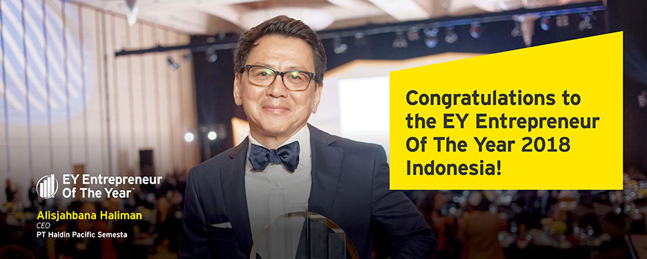 EY - Congratulations to EY Entrepreneur Of The Year 2018 Indonesia