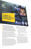 EY - Insights on Robotic Process Automation