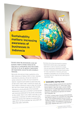 EY - Sustainability matters: increasing awareness of businesses in Indonesia