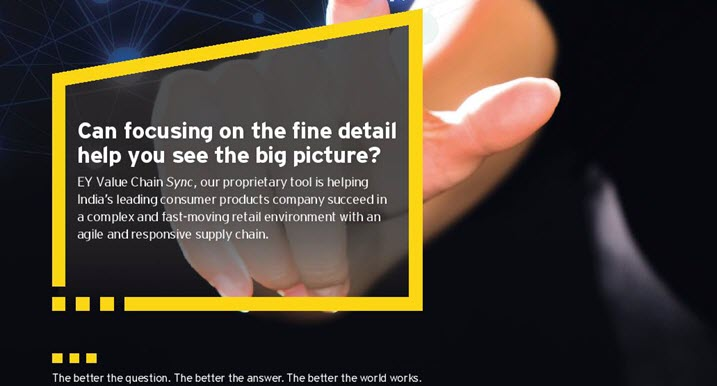 EY - Can focusing on the fine detail help you see the big picture?