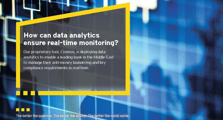 EY - How can data analytics ensure real-time monitoring?