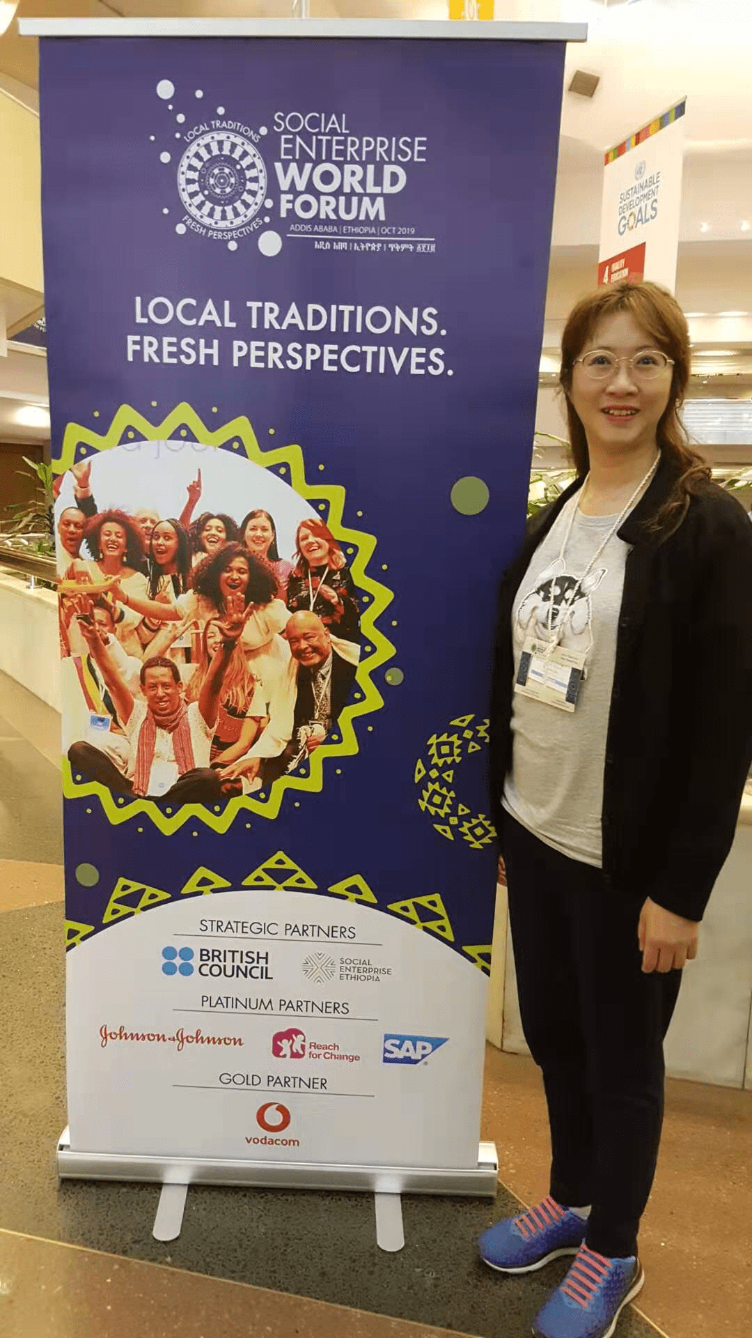 Our Managing Partner Ms. Rossana Chu attended The Social Enterprise World Forum (SEWF) Oct 2019 in Ethiopia