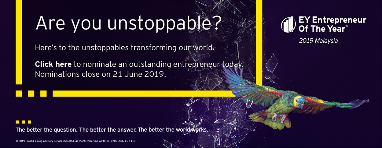EY - Entrepreneur of the Year 2019 Nomination