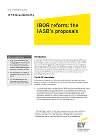 EY - IFRS Developments Issue 144: IBOR reform - the IASB's proposals