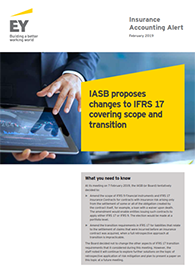 EY - Insurance Accounting Alert - IASB meeting (February 2019)