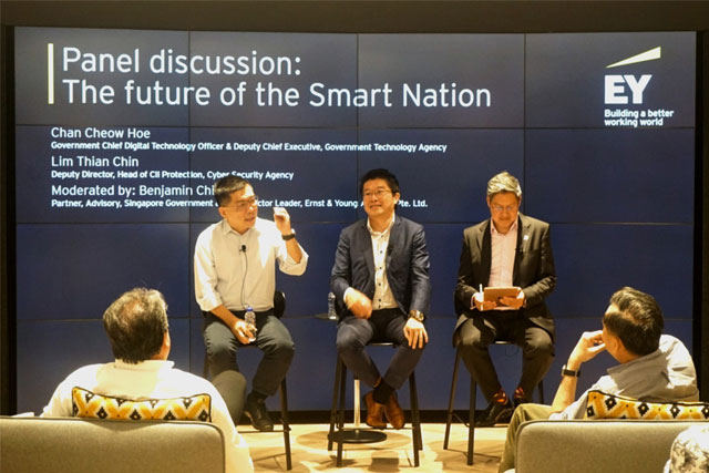 EY Alumni Connect: The future of the Smart Nation