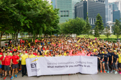 EY - Walk for Rice 2016: 10 November 2016