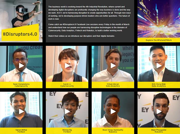 EY - #Disruptors4.0