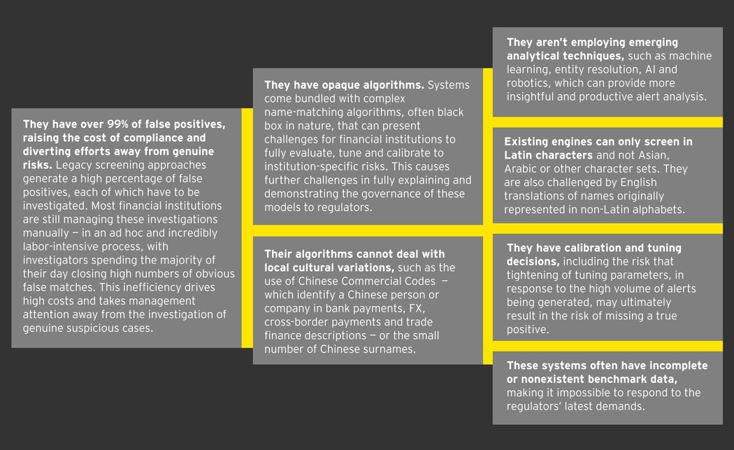 EY - If screening engines present 99% false positives, how can we fix sanctions compliance?
