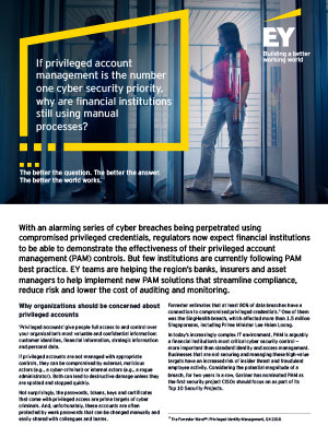 EY - Why organizations should be concerned about privileged accounts