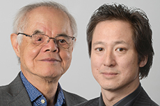 Dr Peter Poon MBE and Andrew Poon