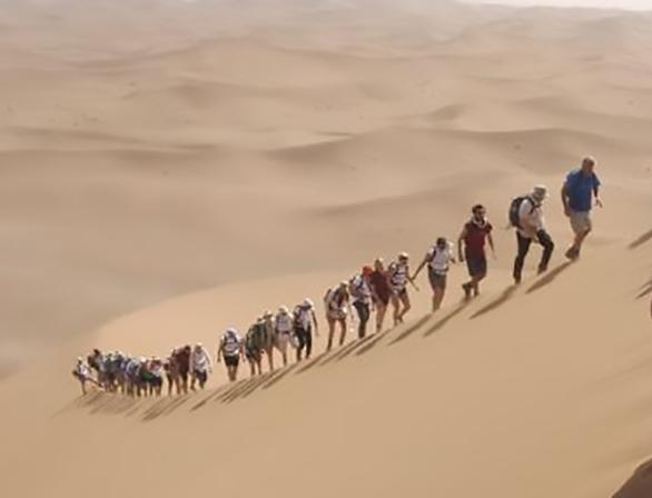 EY - Bucket Challenge #3: 5th Sahara Trek