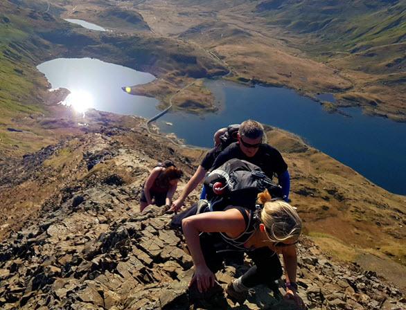 EY - Bucket Challenge #1: Three Peaks