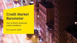 EY Q1 2018 Credit Market Barometer</