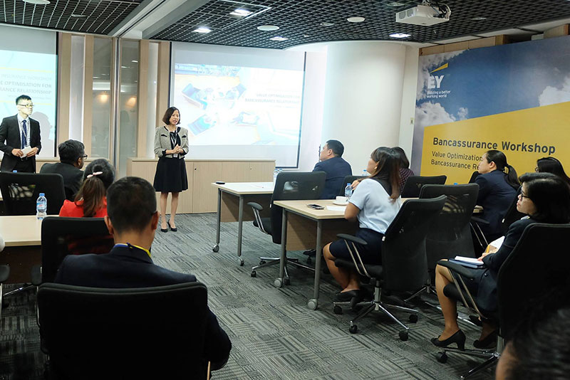 "EY - Workshop ""Value Optimization for Bancassurance Relationship"""