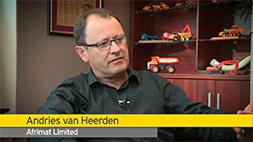 EY - Master Category Winner, Andries van Heerden, Afrimat